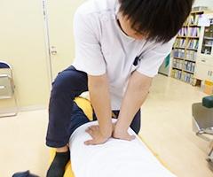 筋膜リリースストレッチ 施術イメージ1