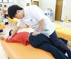 筋膜リリースストレッチ 施術イメージ2