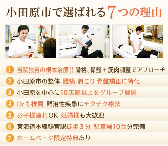小田原市で選ばれる7つの理由
